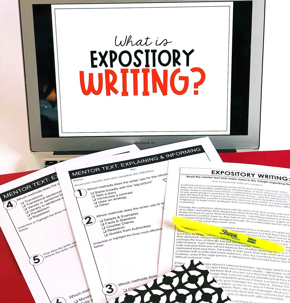 Expository Writing Teaching Kids to Inform & Explain   Learning ...