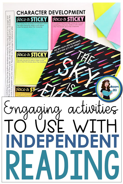 You can teach standards with independent reading