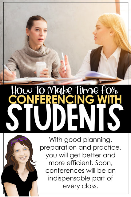 Tips and strategies for conferencing with students.