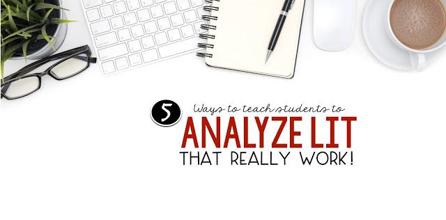 Teaching literary analysis: 5 things that really work