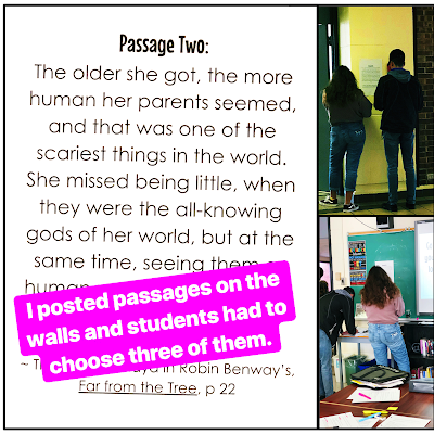 Teach students to analyze and write about character with this quick and engaging activity.