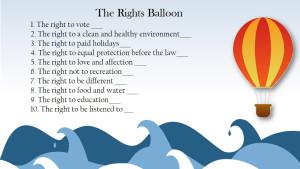 Rights Balloon