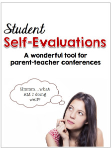 self evaluations letter