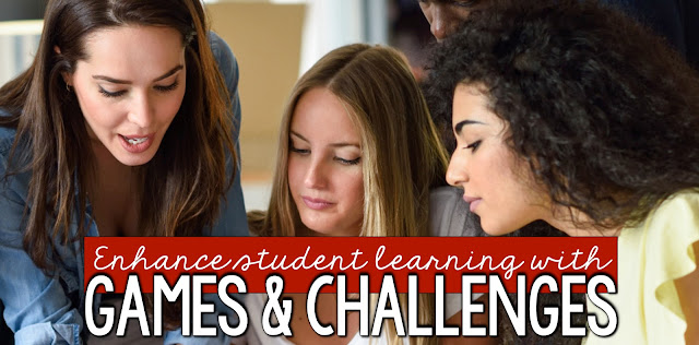 Using games and challenges to enhance learning
